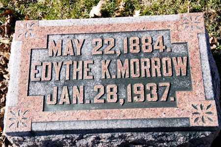 MORROW, EDYTHE K - Richland County, Ohio | EDYTHE K MORROW - Ohio Gravestone Photos