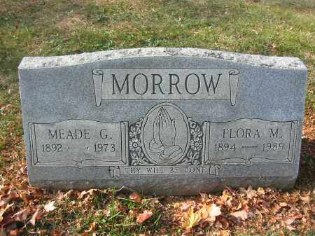 MORROW, FLORA - Richland County, Ohio | FLORA MORROW - Ohio Gravestone Photos