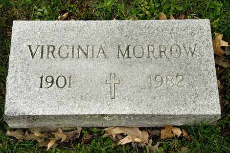 MORROW, VIRGINIA - Richland County, Ohio | VIRGINIA MORROW - Ohio Gravestone Photos