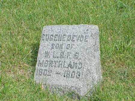 MORTHLAND, EUGENE DEVOE - Richland County, Ohio | EUGENE DEVOE MORTHLAND - Ohio Gravestone Photos