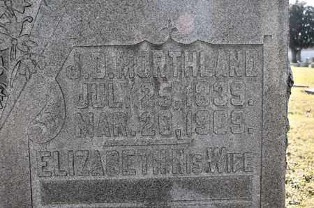 MORTHLAND, J D - Richland County, Ohio | J D MORTHLAND - Ohio Gravestone Photos