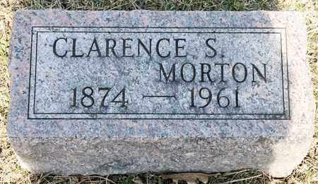MORTON, CLARENCE S - Richland County, Ohio | CLARENCE S MORTON - Ohio Gravestone Photos