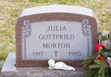 GOTTFRIED MORTON, JULIA - Richland County, Ohio | JULIA GOTTFRIED MORTON - Ohio Gravestone Photos