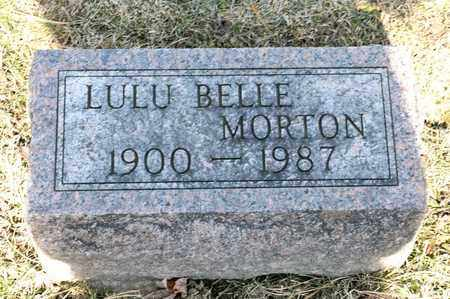 MORTON, LULU BELLE - Richland County, Ohio | LULU BELLE MORTON - Ohio Gravestone Photos