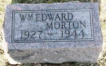 MORTON, WILLIAM EDWARD - Richland County, Ohio | WILLIAM EDWARD MORTON - Ohio Gravestone Photos
