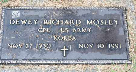 MOSLEY, DEWEY RICHARD - Richland County, Ohio | DEWEY RICHARD MOSLEY - Ohio Gravestone Photos
