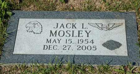MOSLEY, JACK L - Richland County, Ohio | JACK L MOSLEY - Ohio Gravestone Photos