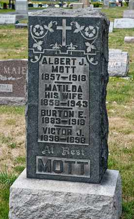 MOTT, MATILDA - Richland County, Ohio | MATILDA MOTT - Ohio Gravestone Photos