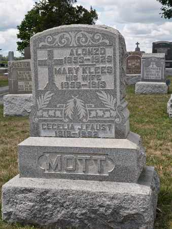 KLEES MOTT, MARY - Richland County, Ohio | MARY KLEES MOTT - Ohio Gravestone Photos