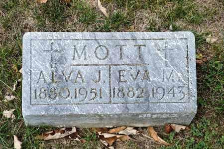 MOTT, ALVA J - Richland County, Ohio | ALVA J MOTT - Ohio Gravestone Photos