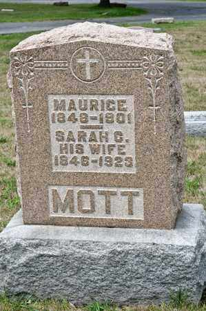 MOTT, MAURICE - Richland County, Ohio | MAURICE MOTT - Ohio Gravestone Photos