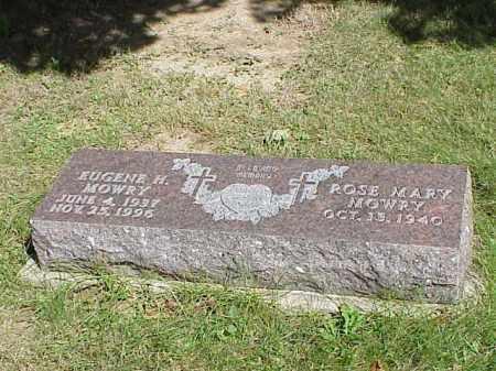 MOWRY, EUGENE H. - Richland County, Ohio | EUGENE H. MOWRY - Ohio Gravestone Photos