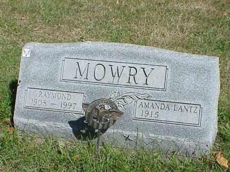 MOWRY, RAYMOND - Richland County, Ohio | RAYMOND MOWRY - Ohio Gravestone Photos