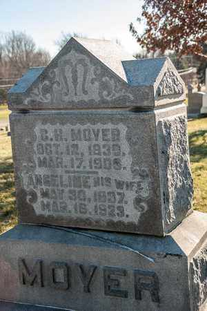 MOYER, C H - Richland County, Ohio | C H MOYER - Ohio Gravestone Photos