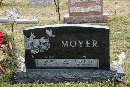 MOYER, CLARENCE E - Richland County, Ohio | CLARENCE E MOYER - Ohio Gravestone Photos