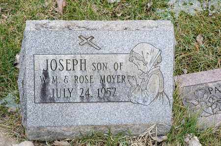 MOYER, JOSEPH - Richland County, Ohio | JOSEPH MOYER - Ohio Gravestone Photos