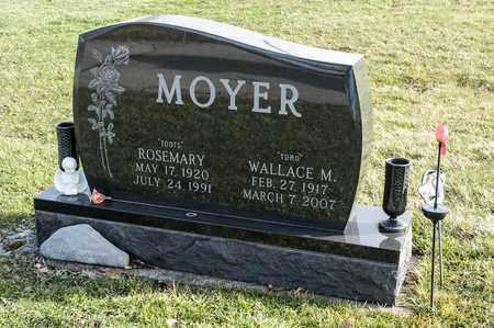 MOYER, WALLACE M - Richland County, Ohio | WALLACE M MOYER - Ohio Gravestone Photos