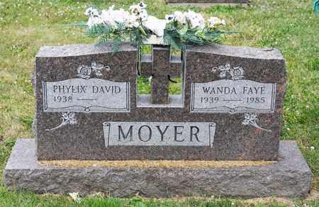 MOYER, WANDA FAYE - Richland County, Ohio | WANDA FAYE MOYER - Ohio Gravestone Photos