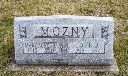 MOZNY, JOHN J - Richland County, Ohio | JOHN J MOZNY - Ohio Gravestone Photos