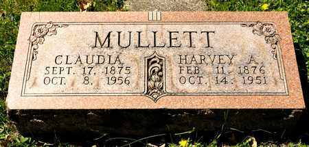 MULLETT, HARVEY A - Richland County, Ohio | HARVEY A MULLETT - Ohio Gravestone Photos