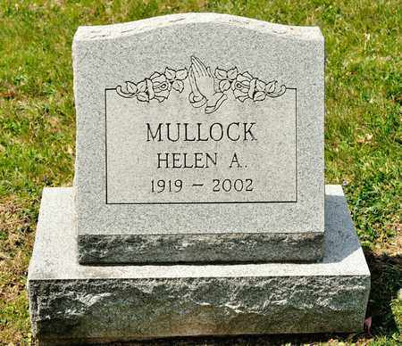 MULLOCK, HELEN A - Richland County, Ohio | HELEN A MULLOCK - Ohio Gravestone Photos