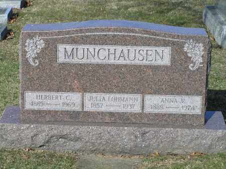 MUNCHAUSEN, HERBERT - Richland County, Ohio | HERBERT MUNCHAUSEN - Ohio Gravestone Photos