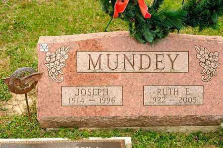 MUNDEY, JOSEPH - Richland County, Ohio | JOSEPH MUNDEY - Ohio Gravestone Photos