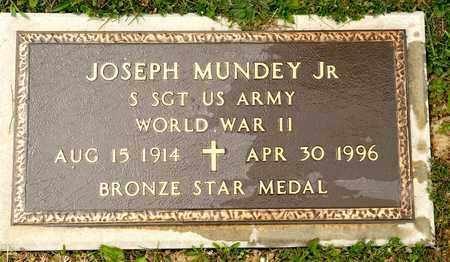 MUNDEY JR, JOSEPH - Richland County, Ohio | JOSEPH MUNDEY JR - Ohio Gravestone Photos