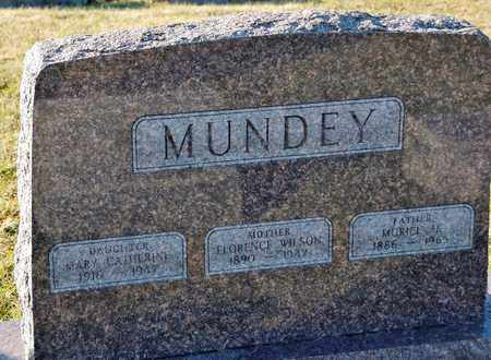 MUNDEY, MURIEL H - Richland County, Ohio | MURIEL H MUNDEY - Ohio Gravestone Photos