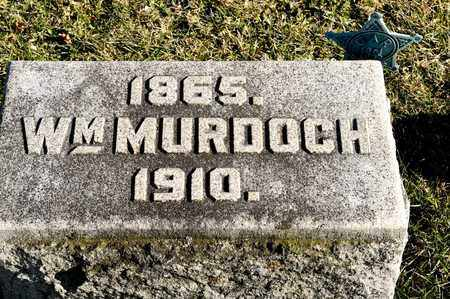 MURDOCH, WILLIAM - Richland County, Ohio | WILLIAM MURDOCH - Ohio Gravestone Photos