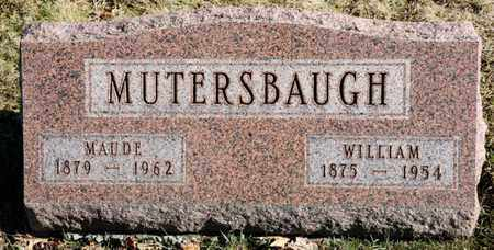 MUTERSBAUGH, MAUDE - Richland County, Ohio | MAUDE MUTERSBAUGH - Ohio Gravestone Photos