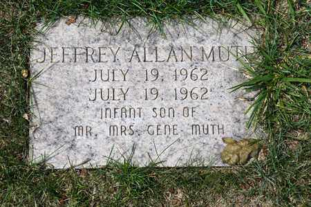 MUTH, JEFFREY ALLAN - Richland County, Ohio | JEFFREY ALLAN MUTH - Ohio Gravestone Photos