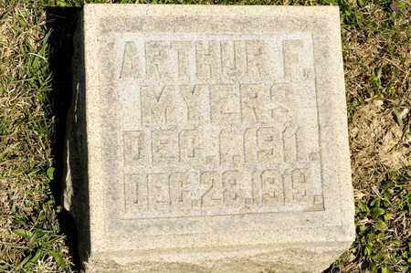 MYERS, ARTHUR F - Richland County, Ohio | ARTHUR F MYERS - Ohio Gravestone Photos
