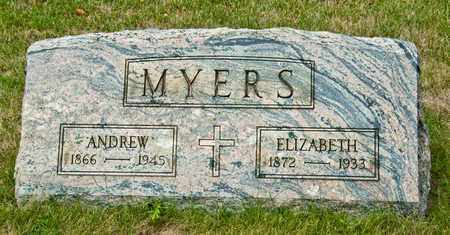 MYERS, ANDREW - Richland County, Ohio | ANDREW MYERS - Ohio Gravestone Photos