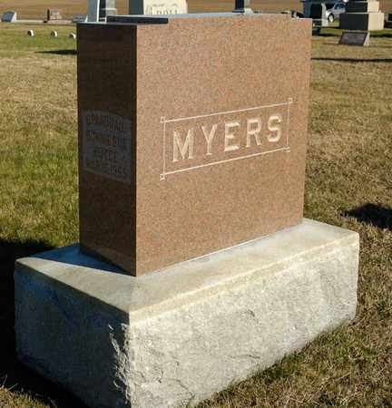 MYERS, A FAMILY STONE - Richland County, Ohio | A FAMILY STONE MYERS - Ohio Gravestone Photos