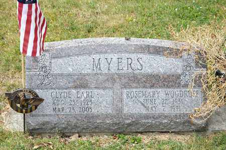 MYERS, CLYDE EARL - Richland County, Ohio | CLYDE EARL MYERS - Ohio Gravestone Photos