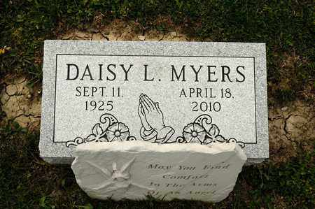 MYERS, DAISY L - Richland County, Ohio | DAISY L MYERS - Ohio Gravestone Photos