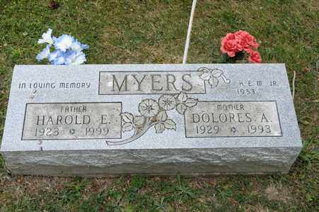 MYERS, DOLORES A - Richland County, Ohio | DOLORES A MYERS - Ohio Gravestone Photos