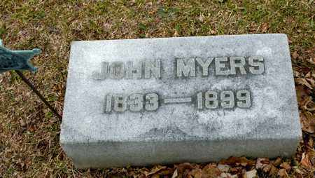 MYERS, JOHN - Richland County, Ohio | JOHN MYERS - Ohio Gravestone Photos