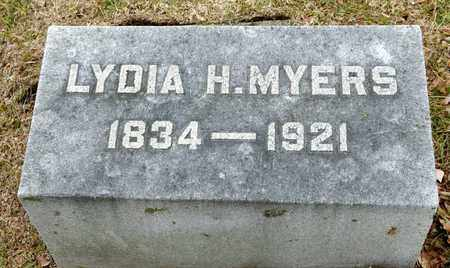 MYERS, LYDIA - Richland County, Ohio | LYDIA MYERS - Ohio Gravestone Photos