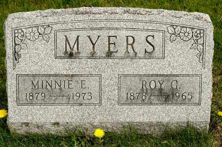 MYERS, MINNIE E - Richland County, Ohio | MINNIE E MYERS - Ohio Gravestone Photos