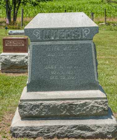 MYERS, PETER - Richland County, Ohio | PETER MYERS - Ohio Gravestone Photos