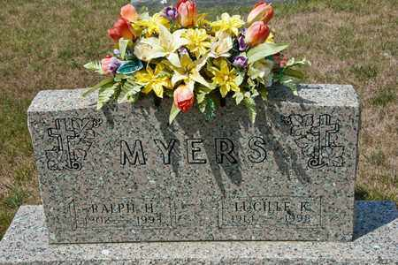 MYERS, LUCILLE K - Richland County, Ohio | LUCILLE K MYERS - Ohio Gravestone Photos