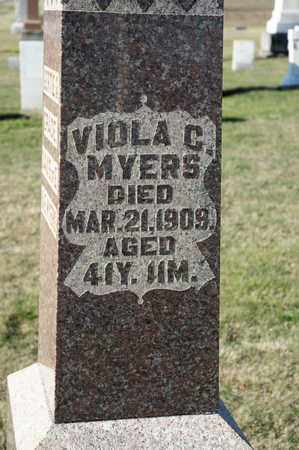 MYERS, VIOLA C - Richland County, Ohio | VIOLA C MYERS - Ohio Gravestone Photos