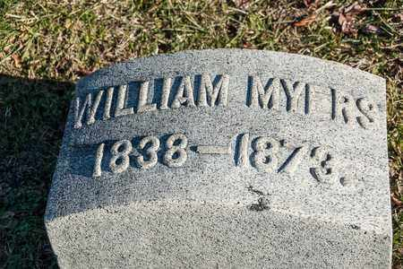 MYERS, WILLIAM - Richland County, Ohio | WILLIAM MYERS - Ohio Gravestone Photos