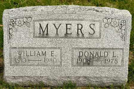 MYERS, DONALD L - Richland County, Ohio | DONALD L MYERS - Ohio Gravestone Photos
