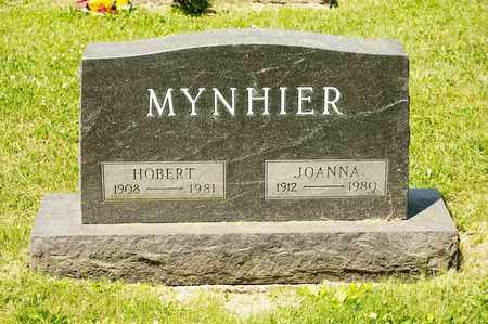 MYNHIER, JOANNA - Richland County, Ohio | JOANNA MYNHIER - Ohio Gravestone Photos