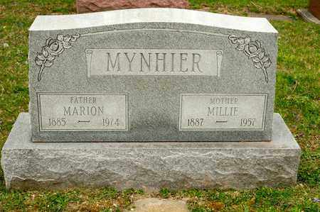 MYNHIER, MARION - Richland County, Ohio | MARION MYNHIER - Ohio Gravestone Photos