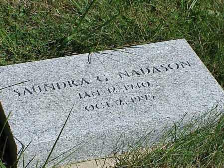 NADASON, SAUNDRA G. - Richland County, Ohio | SAUNDRA G. NADASON - Ohio Gravestone Photos