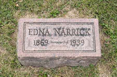NARRICK, EDNA - Richland County, Ohio | EDNA NARRICK - Ohio Gravestone Photos